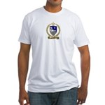 GUILBEAUX Family Crest Fitted T-Shirt