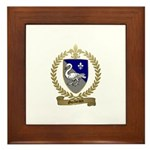 GUILBEAUX Family Crest Framed Tile