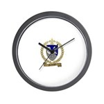 GUILBEAUX Family Crest Wall Clock