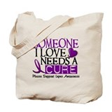 Needs A Cure LUPUS Tote Bag