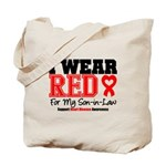 I Wear Red Son-in-Law Tote Bag