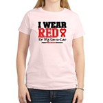 I Wear Red Son-in-Law Women's Light T-Shirt