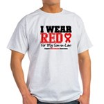 I Wear Red Son-in-Law Light T-Shirt
