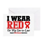 I Wear Red Son-in-Law Greeting Cards (Pk of 10)
