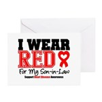 I Wear Red Son-in-Law Greeting Cards (Pk of 20)