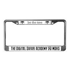 Cute Safari License Plate Frame