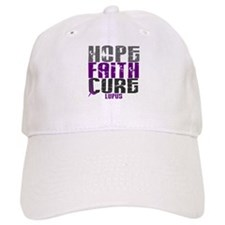 HOPE FAITH CURE Lupus Baseball Cap