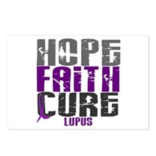 HOPE FAITH CURE Lupus Postcards (Package of 8)