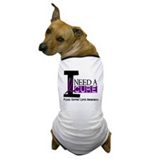 I Need A Cure LUPUS Dog T-Shirt