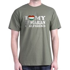I Love My Hungarian Girlfriend T-Shirt