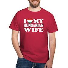 I Love My Hungarian Wife T-Shirt