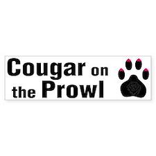 Cougar -- Bumper Bumper Stickers