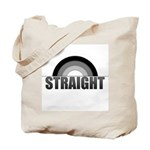 Straight Rainbow Tote Bag