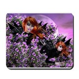 Evening Azaleas Mousepad