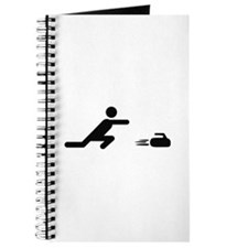 black curling logo curl symb Journal