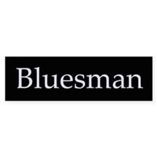 Bluesman Bumper Bumper Sticker
