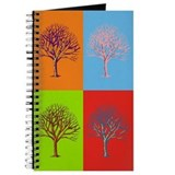 Warhol Print Tree Journal