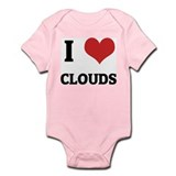 I Love Clouds Infant Creeper