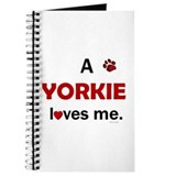 Yorkshire terrier Journals & Spiral Notebooks