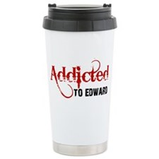 Addicted to Edward Ceramic Travel Mug