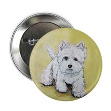 "Westie Attitude 2.25"" Button (10 pack)"
