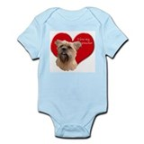 affenpinscher love Infant Bodysuit