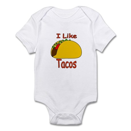 I Like Tacos Infant Bodysuit