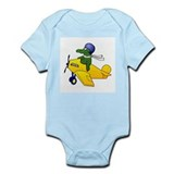 Gator Plane Onesie