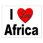 I Love Africa Small Poster