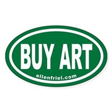 BUY ART ellenfriel.com Euro Oval ( 10 pk)