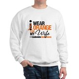Leukemia (Wife) Sweatshirt