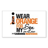 Leukemia (Son-In-Law) Rectangle Decal