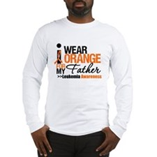 Leukemia (Father) Long Sleeve T-Shirt