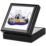 Otters Keepsake Box