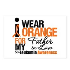 Leukemia (Father-In-Law) Postcards (Package of 8)