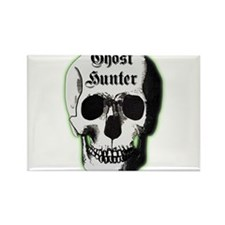Ghost Hunter Skull Rectangle Magnet (100 pack)