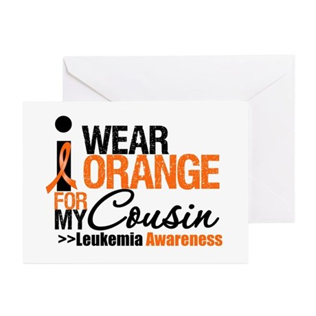 Leukemia Support Greeting Cards (Pk of 20)