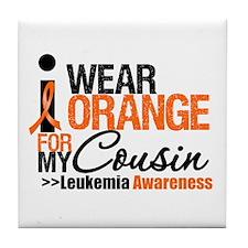 Leukemia Support Tile Coaster