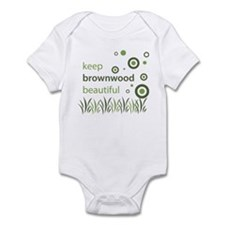 """Keep Brownwood Beautiful"" Infant Bodysuit"