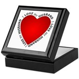I Love My Husband - Keepsake Box