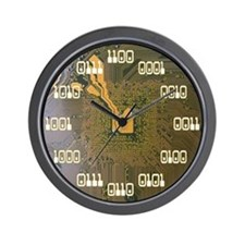 Binary Clock v2.0 Wall Clock