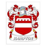 Hampton Coat of Arms Small Poster