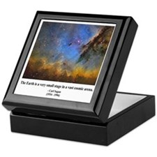 Carl Sagan D Keepsake Box