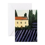 Lavender Landscape Greeting Cards (Pk of 10)