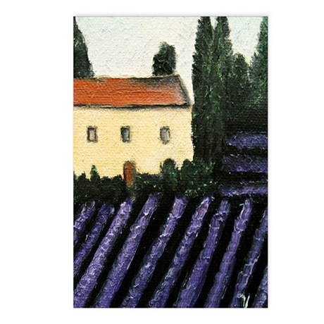 Lavender Landscape Postcards (Package of 8)