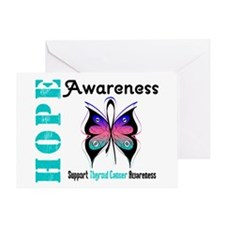 Thyroid Cancer Hope Greeting Card