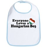 Everyone Loves a Hungarian Boy Bib