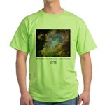 Carl Sagan J Green T-Shirt