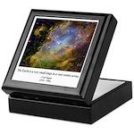 Carl Sagan J Keepsake Box
