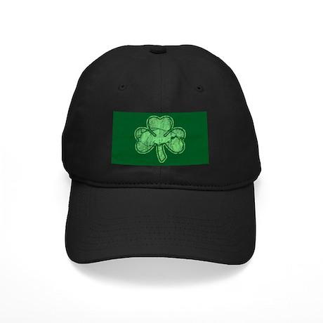 retro st patricks day shamrock baseball hat by trendyteeshirts